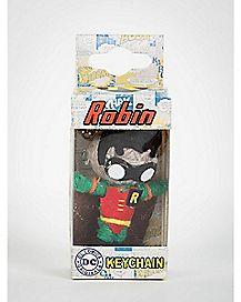 Voodoo Doll Robin Keychain