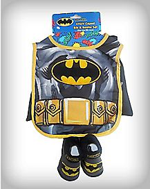 Batman Caped Bib & Bootie Set