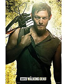 Daryl The Walking Dead Poster