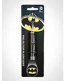 Batman Shield Flashlight Key Chain