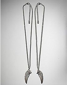 Wing Best Friend Necklace