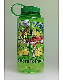 Party Chug O Meter TMNT Water Bottle