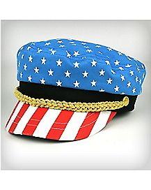 Americana Flag Skipper Hat