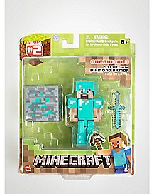 Steve with Diamond Minecraft  Figure