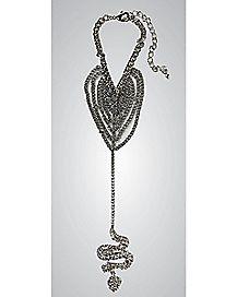Snake Hand Bracelet