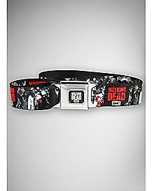 Zombies The Walking Dead Seatbelt Belt