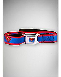 Symbol Superman Seatbelt Belt - DC Comics