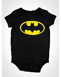 Batman Logo Baby Bodysuit - DC Comics