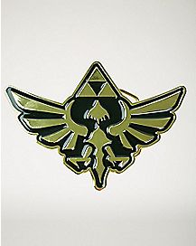 Gold Crest Zelda Belt Buckle