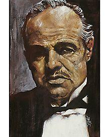 Don Vito Corleone Stephen Fishwick Poster