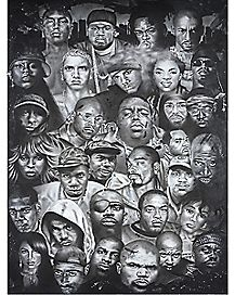 Hip Hop Artists Poster
