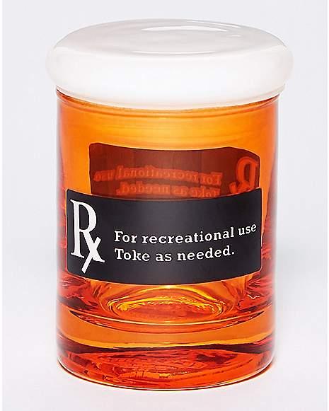 rx storage jar 3 oz glass spencer 39 s. Black Bedroom Furniture Sets. Home Design Ideas