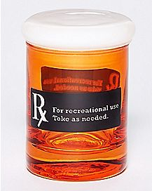 Rx Storage Jar - 3 oz Glass