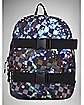 Checkered Galaxy Skate Backpack