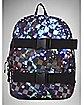 Checkered Galaxy Skate Backpack