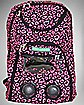 Audio Backpack Pink Leopard