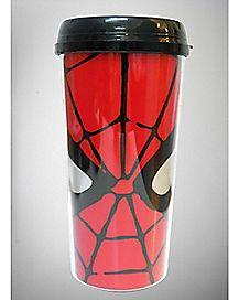 Glitter Spider Man Travel Mug 16 oz