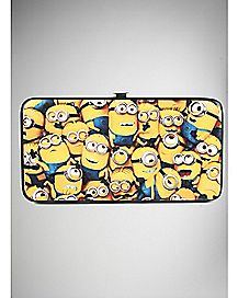 Good Evil Minions Despicable Me Hinged Wallet