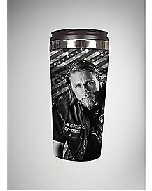 Jax Stripes Sons of Anarchy Travel Mug 16 oz