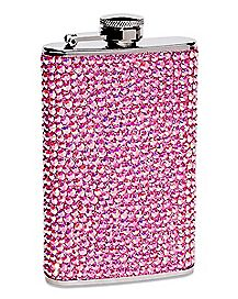 Pink Pebble Flask 5 oz