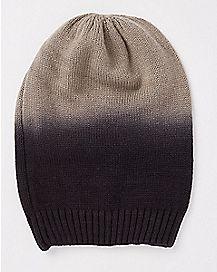 Dip Dye Beanie Hat