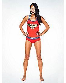 Wonder Woman Racerback Tank Set