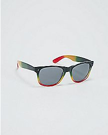 Faded Rasta Sunglasses