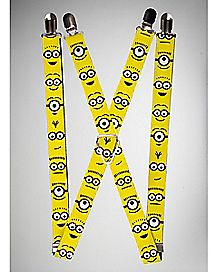 Minions Despicable Me Suspenders