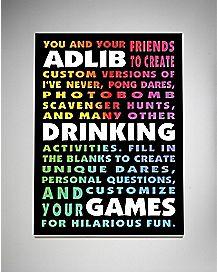 Ad Lib Drinking Games