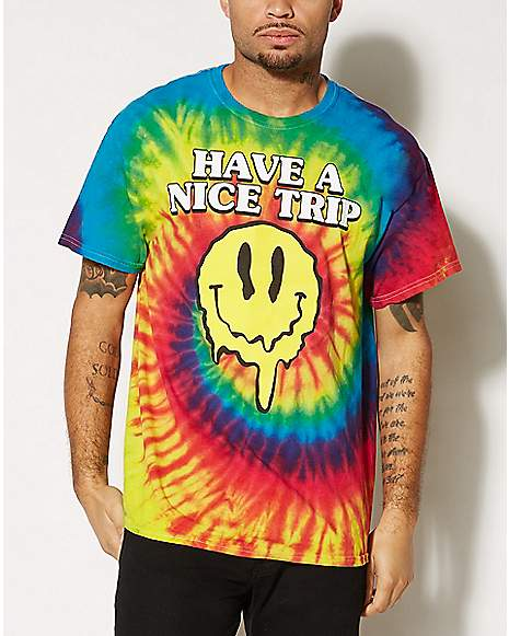 Have A Nice Trip Tie Dye T Shirt Spencer 39 S