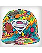 Superman Colors Snapback Hat