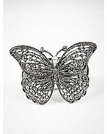 Hematite Butterfly Cuff