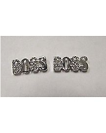 Bling Boss Stud Earrings