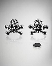 Skull Face Magnetic Stud Set