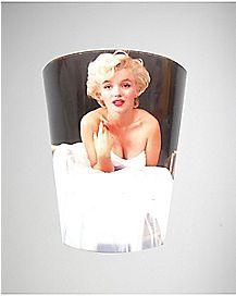 White Dress Marilyn Monroe Shot Glass