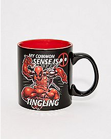 Deadpool Common Sense Mug