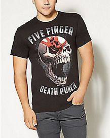 Sin City Skull Five Finger Death Punch T shirt