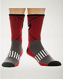 Spiderman Crew Socks