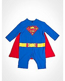 Caped Romper - Superman