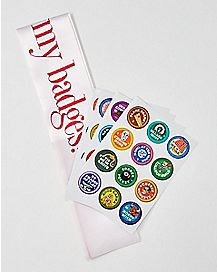 Sash & Badge Bachelorette Party Game