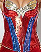 Wonder Woman Sequin Glam Corset