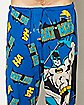 Twinprint Batman Lounge Pants Blue