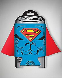 Caped Superman Can Cooler - DC Comics
