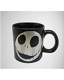 Face Jack Skellington Coffee Mug - The Nightmare Before Christmas