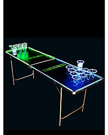 Glowing Beer Pong Table - 6.5 ft