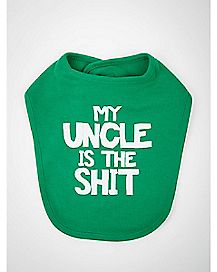 My Uncle is the Shit Bib