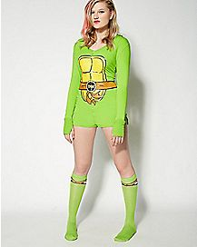 Teenage Mutant Ninja Turtles Hooded Romper