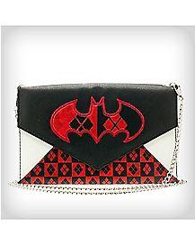 Harley Quinn Logo Envelope Wallet