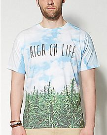 High on Life Sublimated T shirt
