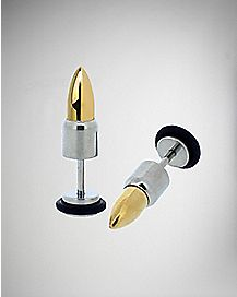 Steel Bullet Fake Plug Set